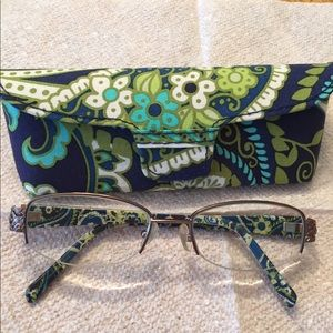 Vera Bradley Rhythm and Blues Glasses